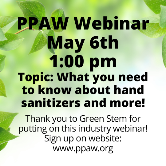 Hand sanitizer webinar for the promo industry